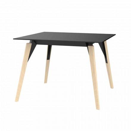 Tavolino da Salotto in Legno e Hpl Vari Colori 2 Misure - Faz Wood by Vondom