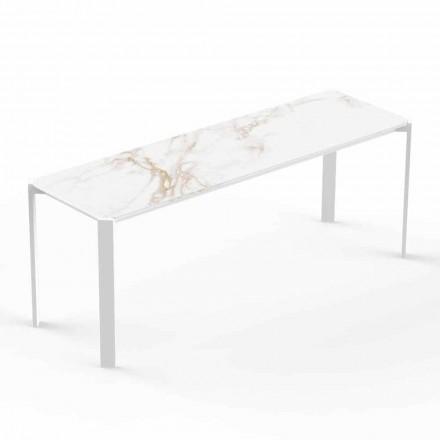 Tavolino da Salotto Moderno da Interno o Esterno in Alluminio - Tablet by Vondom