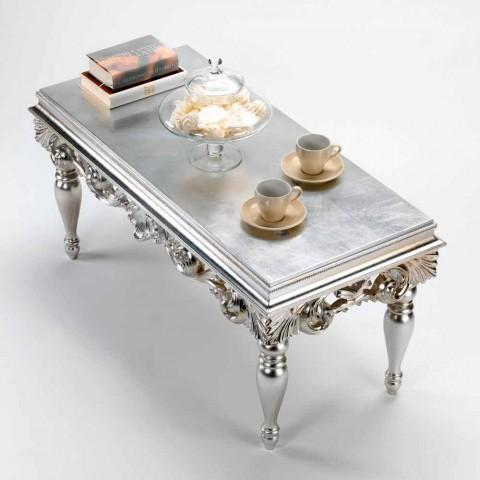 Tavolino da soggiorno dal design classico in legno Zorn
