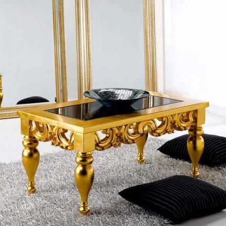 In Stile Classico Tavolini Da Salotto Classici In Foglia Oro.Tavolini Da Salotto Classici Realizzati In Legno In Stile