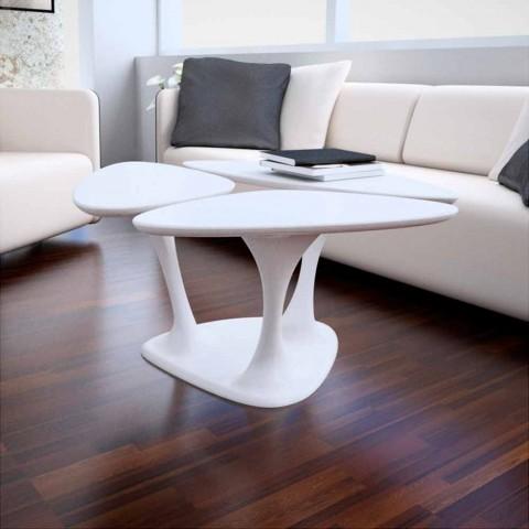 Tavolino design moderno amanita made in italy for Tavoli moderni da salotto