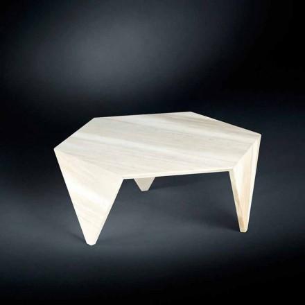 Tavolino di servizio completamente in marmo Ruche
