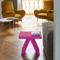 Tavolino geometrico colorato Slide Toy da interni, prodotto in Italia