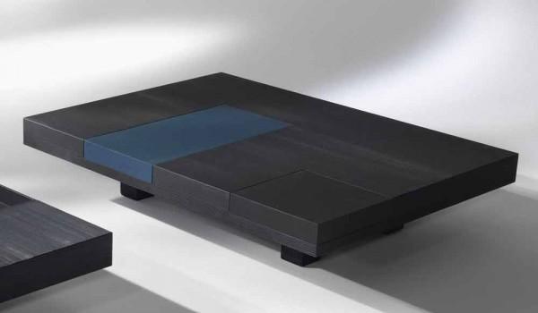 Credenza Moderna Con Tavolo Estraibile : Tavolino rettangolare moderno con vassoi incorporati estraibili iris