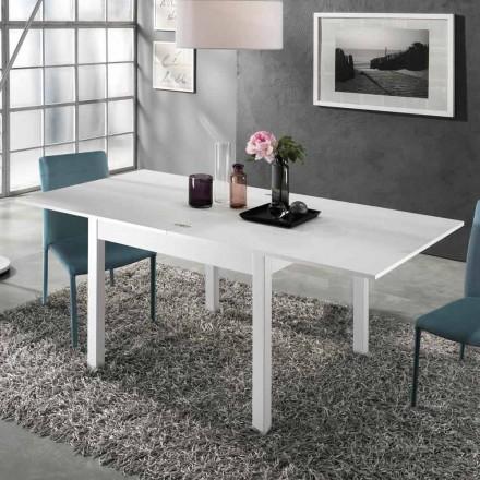 Tavolo Allungabile a 2 m da 10 Posti di Design Moderno in Legno - Tuttetto