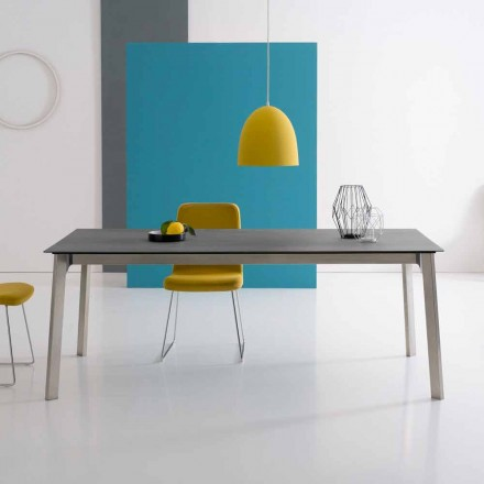 Tavolo Allungabile di Design, Made in Italy in Alluminio - Arnara