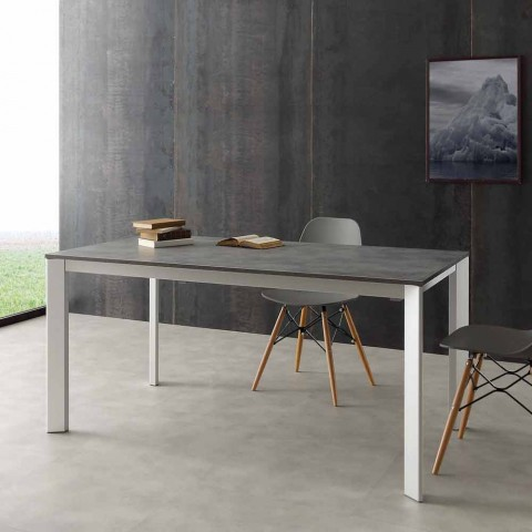 Tavolo Allungabile 4 Metri.Tavolo Allungabile Fino A 3 Metri In Alluminio E Laminato Hpl Urbino