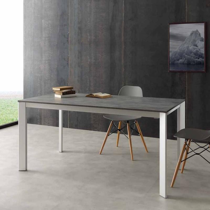 Tavolo allungabile fino a 3 metri in alluminio e laminato Hpl Urbino