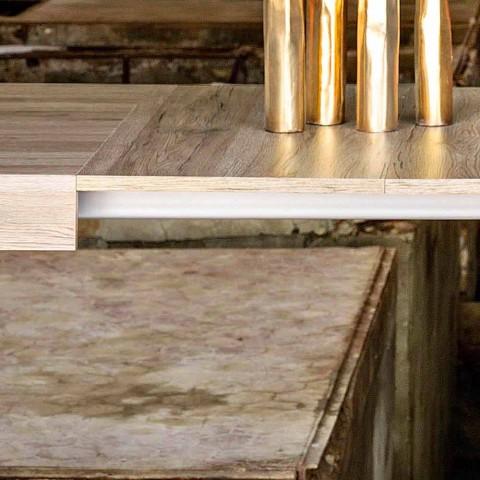 Tavolo Allungabile Fino A 300 Cm Design Moderno In Melaminico Oky