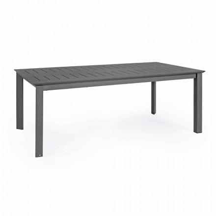 Tavolo da Esterno Allungabile in Alluminio Design Moderno Homemotion - Casper