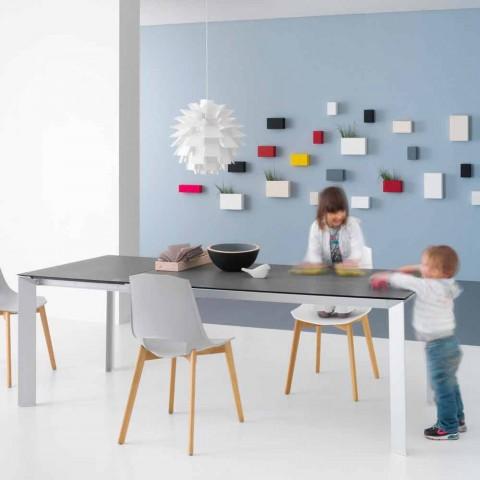 Tavolo Allungabile Moderno, con Struttura in Alluminio - Blera