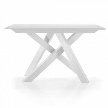 Tavolo Consolle Allungabile fino a 325 cm in Melaminico Made in Italy – Settimmio