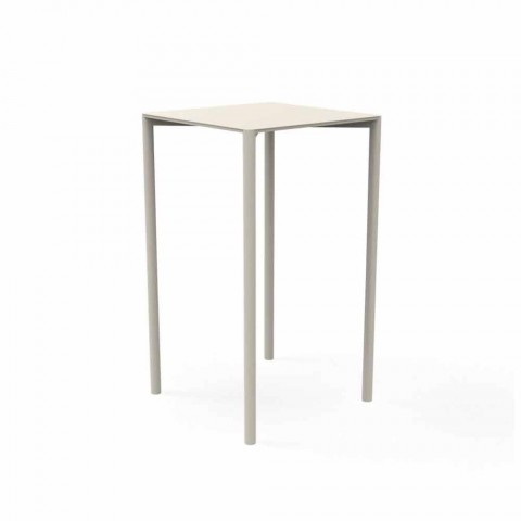Tavoli Da Bar Per Esterno.Tavolo Da Bar Per Giardino Trocadero Talenti Design Moderno Alluminio
