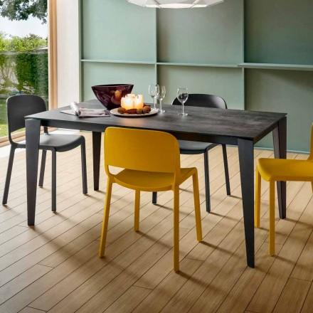 Tavolo da Cucina Allungabile in Ceramica Laminam Made in Italy Pregiato - Efisto
