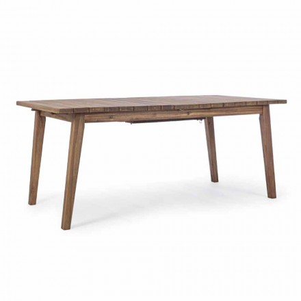 Tavolo da Esterno Allungabile Fino a 240 cm in Legno di Acacia - Howard