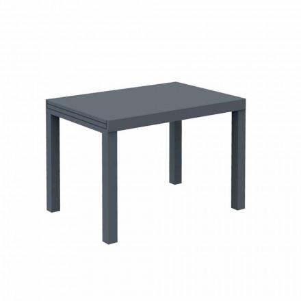 Tavolo da Esterno Allungabile Fino a 280 cm in Metallo Made in Italy - Dego