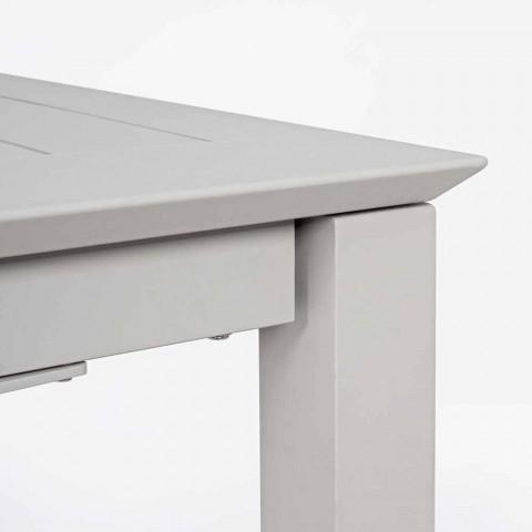 Tavolo Per Il Giardino Allungabile Fino A 240 Cm In Alluminio