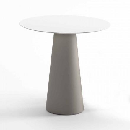 Tavolo da Esterno Moderno in Hpl e Polietilene Opaco Made in Italy - Forlina