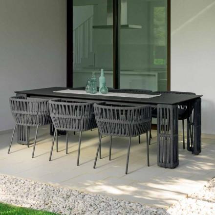Tavolo da giardino allungabile fino a 300 cm Cliff Talenti by Palomba
