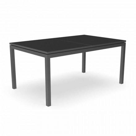 Tavolo da Pranzo da Giardino Allungabile 280 cm in Alluminio – Adam by Talenti