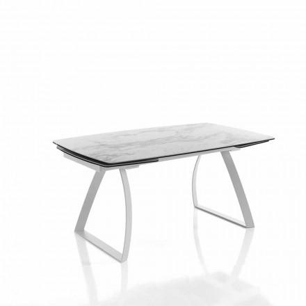 Tavolo da Pranzo Allungabile di Design in Vetroceramica - Willer