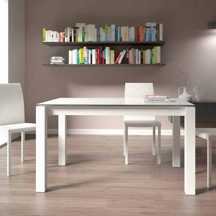 Tavolo da Pranzo Allungabile Fino a 220 cm Design Moderno Made in Italy - Minno