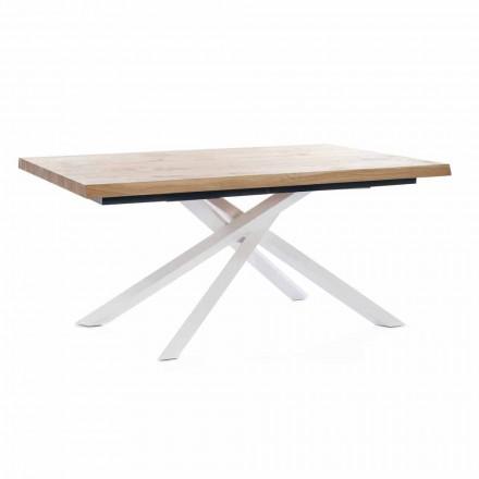 Tavolo da Pranzo Allungabile Fino a 240 cm in Legno Made in Italy - Xino