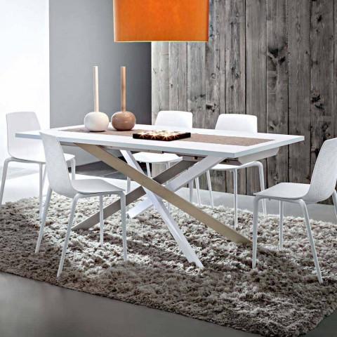 Tavolo da Pranzo Allungabile Fino a 250 cm in Fenix Made in Italy -  Carlino
