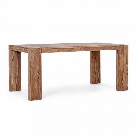 Tavolo da Pranzo Allungabile Fino a 265 cm in Legno Homemotion - Bruce