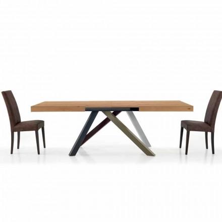 Tavolo da Pranzo Allungabile fino a 450 cm in Laminato Made in Italy – Salentino