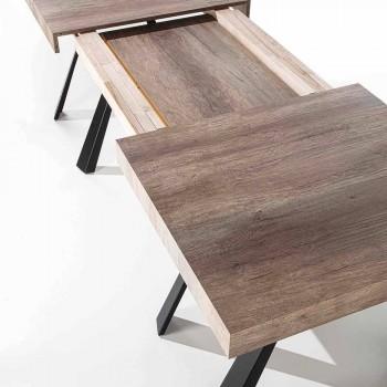 Tavolo da Pranzo Allungabile Fino a 500 cm con Piano in Nobilitato - Raimondo