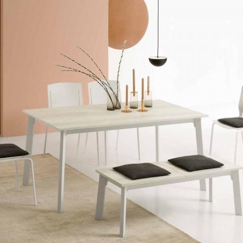 Tavolo da Pranzo di Design, Allungabile con 6/8 Posti - Arnara Basic