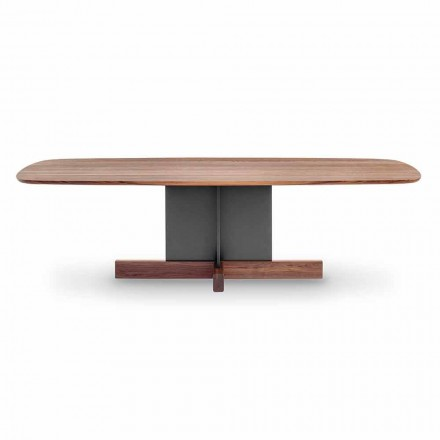 Tavolo da Pranzo di Design con Base a Croce Made in Italy - Bonaldo Cross Table