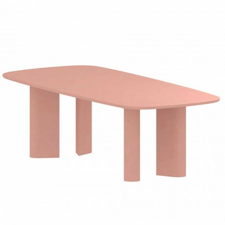 Tavolo da Pranzo di Design in Argilla Made in Italy - Bonaldo Geometric Table