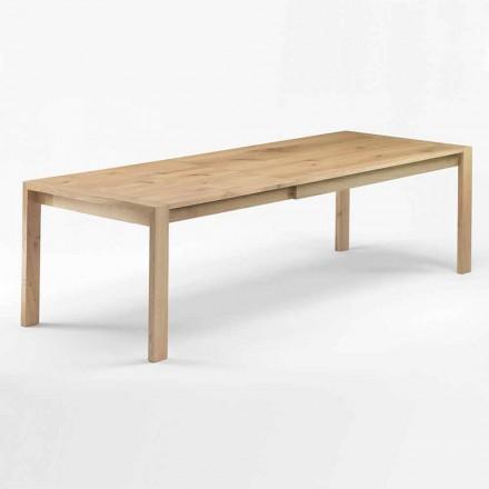 Tavolo da Pranzo in Legno Allungabile Fino a 340 cm Made in Italy - Willow