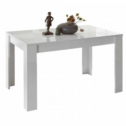 Tavolo da Pranzo in Melaminico Allungabile fino a 185 cm Made in Italy - Aneta