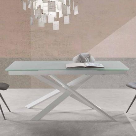 Tavolo in Vetro Allungabile, dal Design Moderno - Marliana