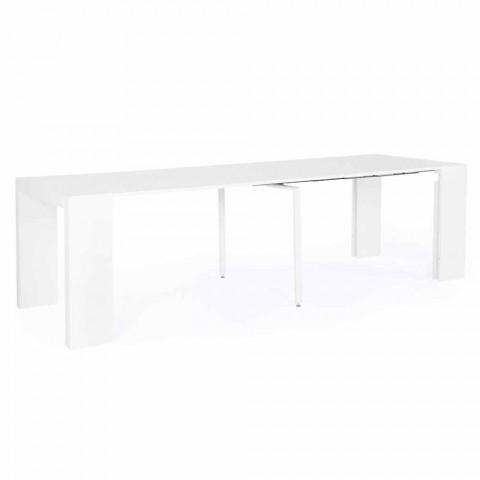 Tavolo Moderno Allungabile Fino a 270 cm in Mdf Laccato Homemotion - Cush