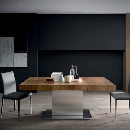 Tavolo Moderno Allungabile Fino a 480 cm in Legno Made in Italy - Michael