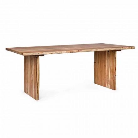 Tavolo per Sala da Pranzo Moderno in Legno di Acacia Homemotion - Pinco