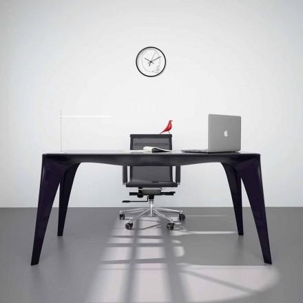 Tavolo scrivania di design moderno prodotto in Italia, Pomarolo