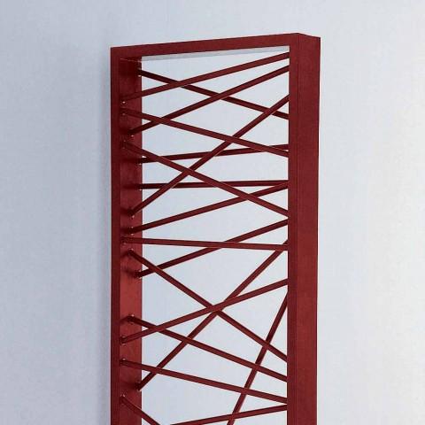 Termoarredo idraulico in acciaio,stile metropolitano Mikado Scirocco H