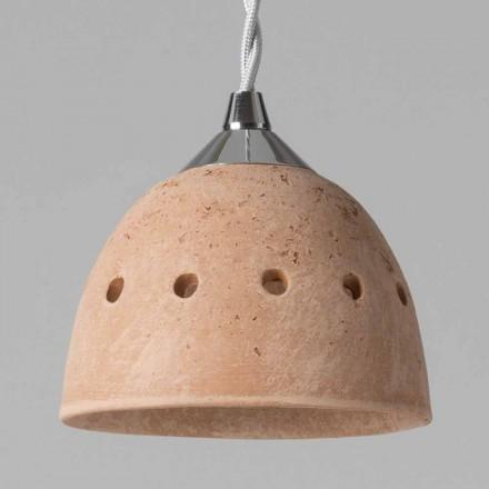 Toscot Apuane lampada a sospensione senza rosone Made in Toscana
