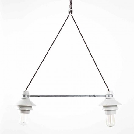 Toscot Battersea biliardo a 2 luci piatto piccolo Made in Toscana