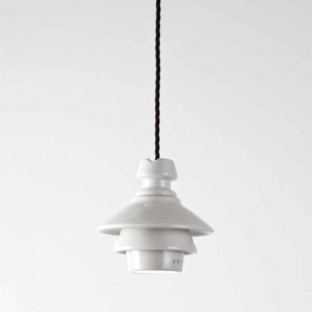 Toscot Battersea lampada a sospensione con piatto in terracotta