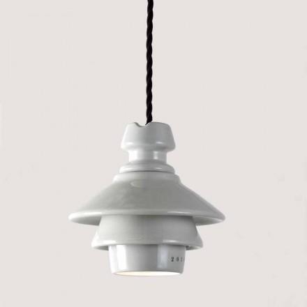 Toscot Battersea lampada a sospensione in ceramica fatta a mano