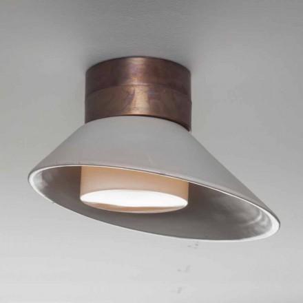 Toscot Chapeau!Lampada a muro/soffitto made in Toscana