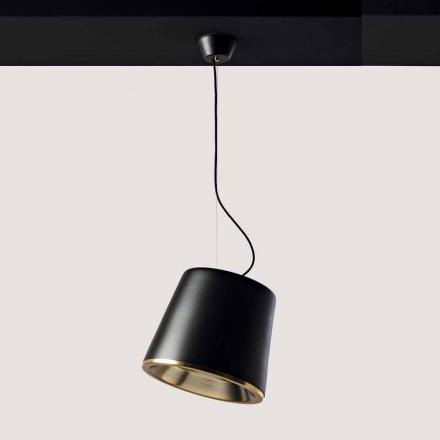 Toscot Henry 1 lampada a sospensione con rosone Ø37cm