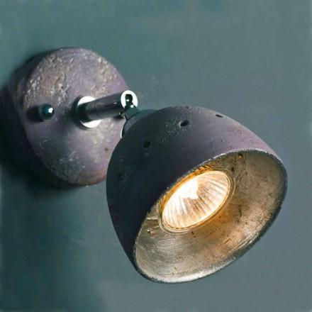 Toscot Apuane faretto con snodo 1 luce direzionabile