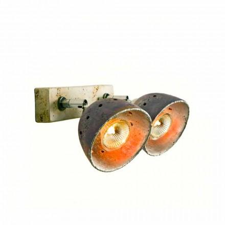 Toscot Apuane reglette 2 luci direzionabili made in Toscana